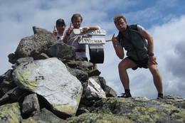 På toppen av Fongen -  Foto: Hallgeir Martin Lundemo
