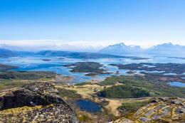 Utsikt mot Finnøya - Foto: Kjell Fredriksen