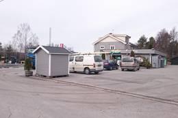 Butikken på Enebakkneset.Her kan en starte turen - Foto: Dag Olav Brækkan