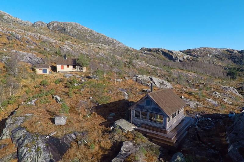 Kalvedalshytta dronefoto