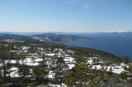 Utsikt fra Storheia - Foto: NTT