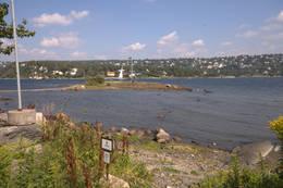 Naturreservatet på Malmøya med utsikt mot Ulvøya og Nordstrand. -  Foto: Oslofjordens Friluftsråd