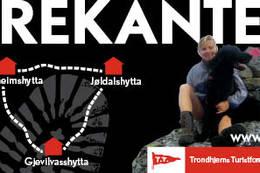 En av Norges mest populære hytte til hytte turer - Foto: TT