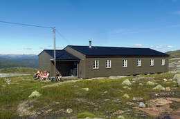 Torfinnsheim som tilhører Voss utferdslag.  - Foto: Clas Holmberg