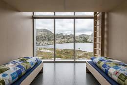 6 stk små hytter som kan bookes  - Foto: Stavanger Turistforening