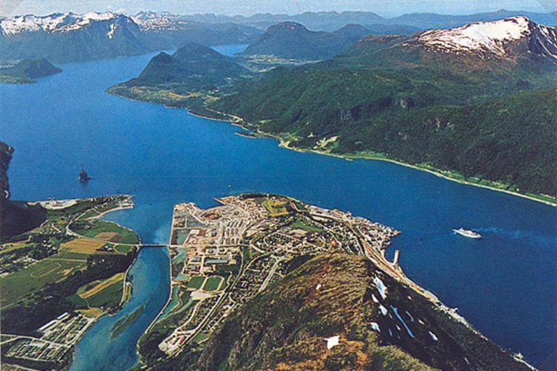 Åndalsnes og Romsdalsfjorden