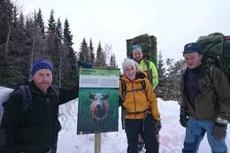 Kusletta i vinterdrakt - Foto: Åshild Myhre Amundsen