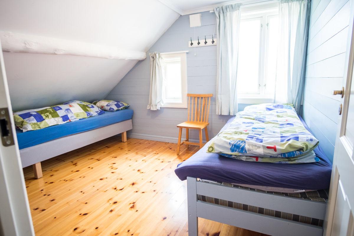 Soverom i Gramstadhuset