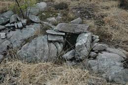 Gammel felle på Steinhei - Foto: Ukjent