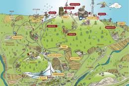 Kartskisse over området - Foto: www.oftenasen.no
