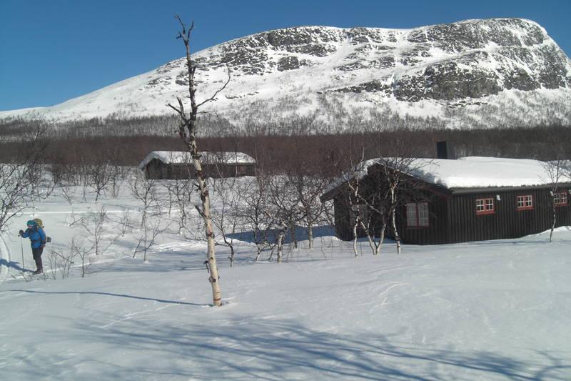 Goldahytta, Indre Troms. 18 Mars 2011