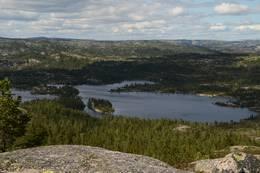 Utsikt mot Reinsvann - Foto: Knut Åkredalen