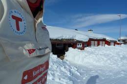 Påskeklar hytte på Storerikvollen - Foto: Jonny Remmereit