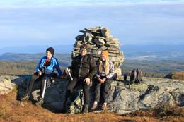 På toppen av Jønnemsklumpen - Foto: Kathrine Kragøe Skjelvan