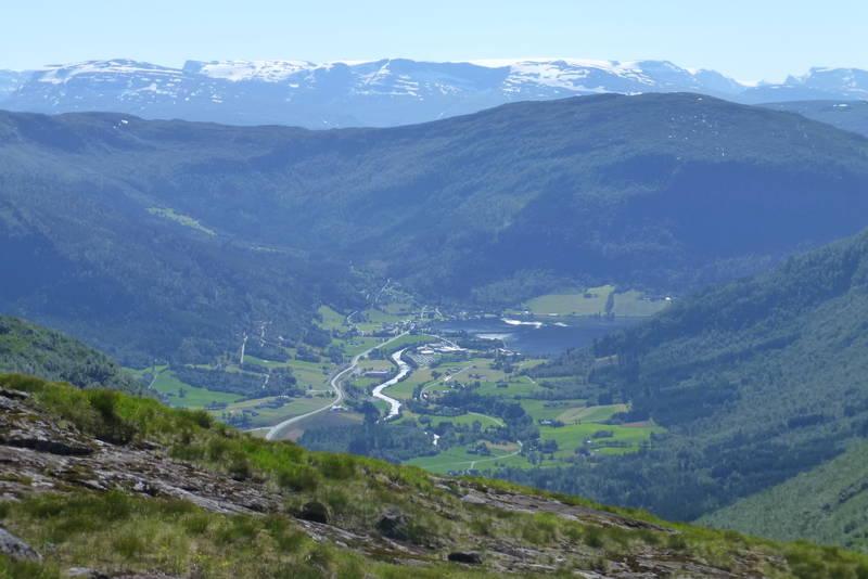 Utsikt fra Kviven mot Grodås