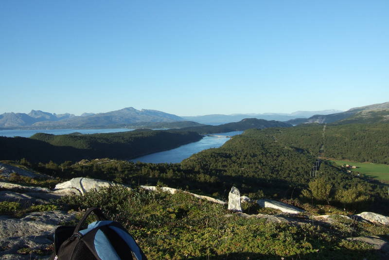 Utsikt mot Saltstraumen