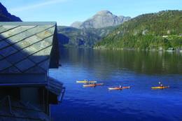 Utsikt til fjorden -  Foto: Marita Solheim