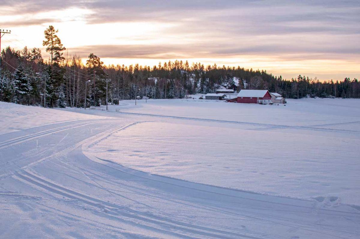 Flotte skiløyper fra skihytta