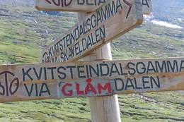 God merking av vei til neste hytte - Foto: Tor Magne Andreassen