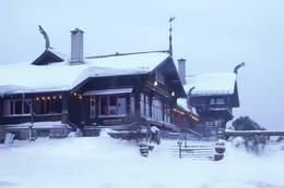 Vinter på Frognerseteren - Foto: