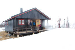 Vår ved Dividalshytta - Foto: Mari Kolbjørnsrud