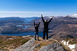 Fin tur for barnefamiliar -  Foto: Simen Soltvedt
