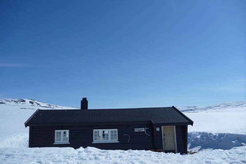 Nydelig vinterdag ved Torsbu