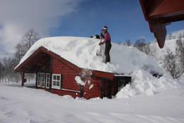 Snørydding - Foto: Åshild Bjørnådal
