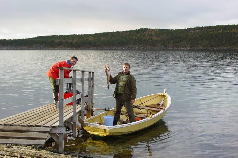 Det er gode muligheter for fangst av torsk og sei.