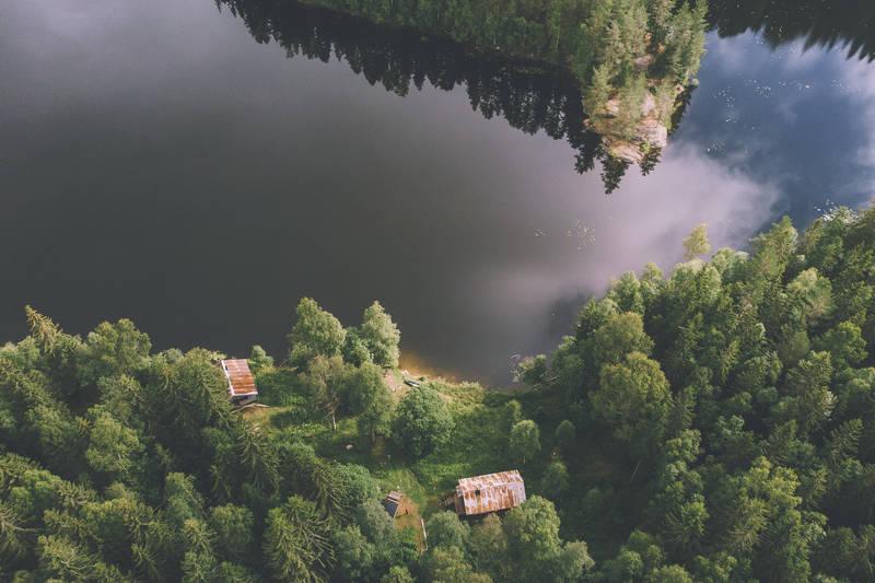 Røyrivannskoia ligger ved siden av DNT-hytta Stallen