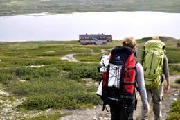 Rauhelleren i sikte  -  Foto: Marianne Wåhlberg