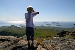 På toppen av Vetten! - Foto: Kristin Green Nicolaysen