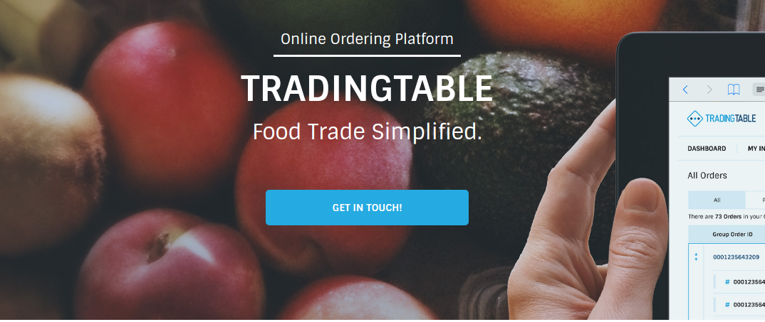 TradingTable B2B food marketplace
