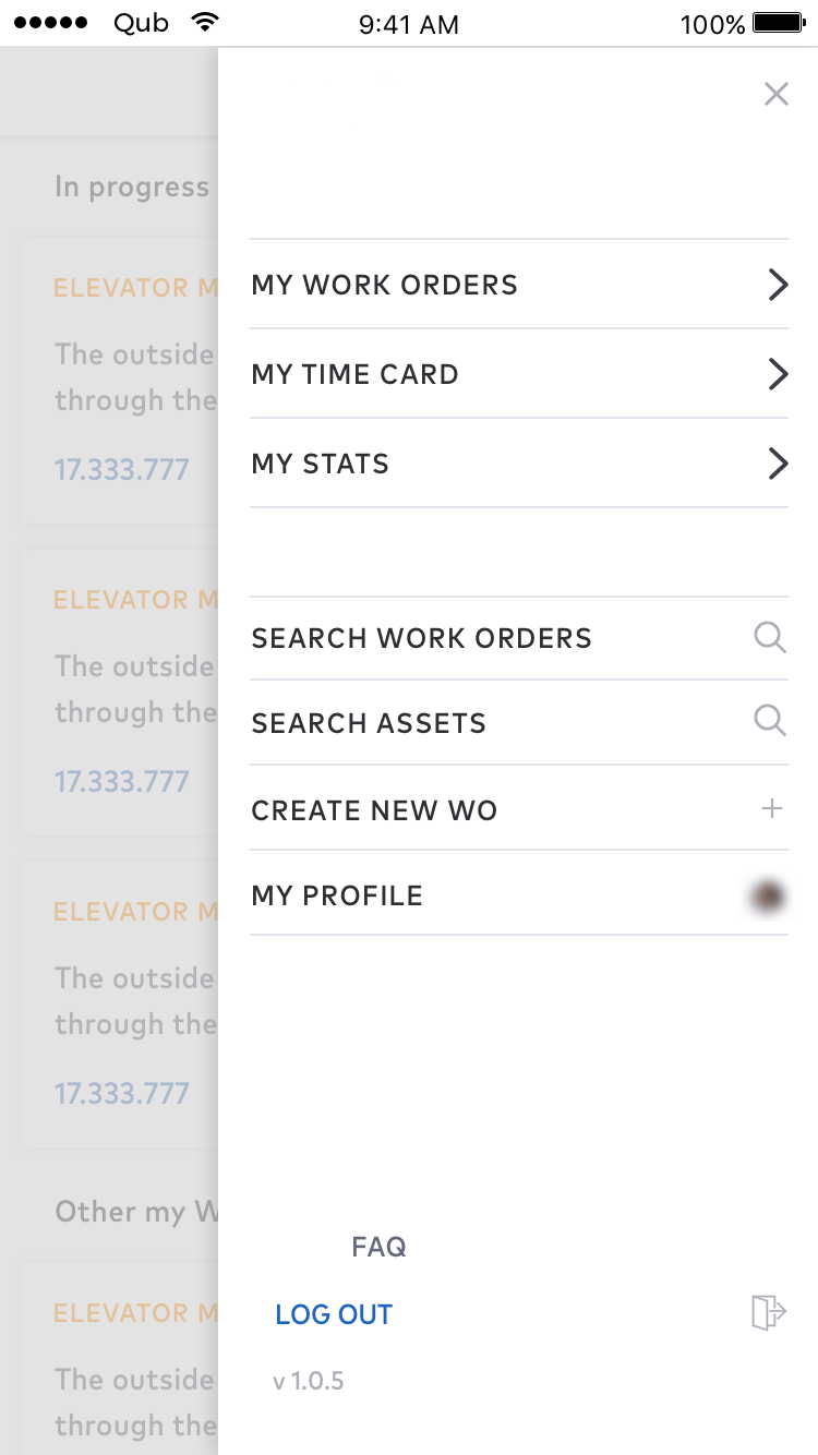 facility management app orders