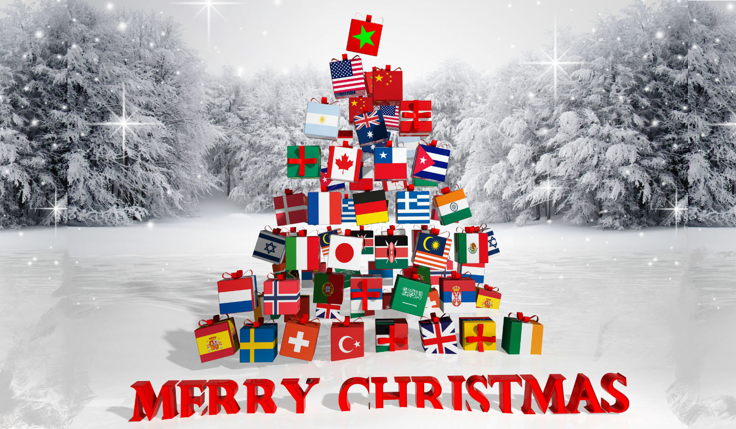 Merry Christmas In Different Languages.How To Say Merry Christmas In 15 Different Languages