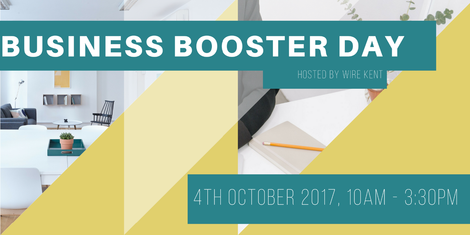 WiRE Kent Presents Business Booster Day