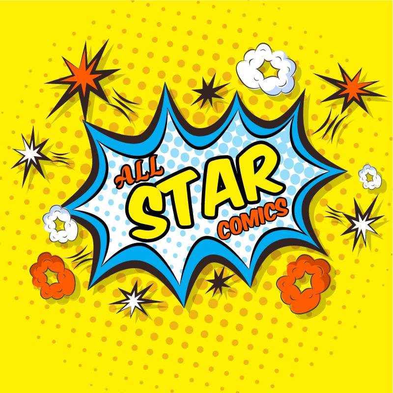 Logo All Star Comics