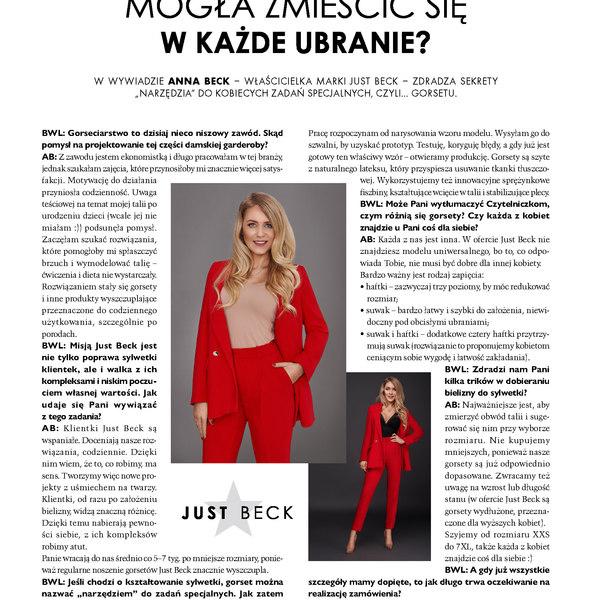 """Magazyn """"Biznes w Kobiecym stylu"""" czerwiec 2019"""