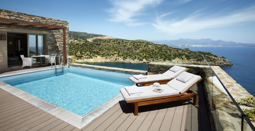 Daios Cove Resort Pool Area