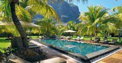 Dinarobin Hotel Mauritius Relaxing Pool View