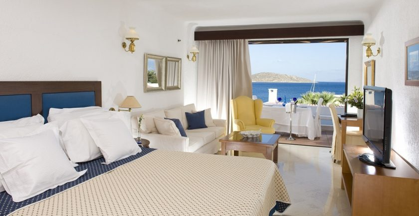Elounda Bay Palace Deluxe Room Sea View
