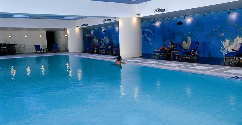 Elounda Bay Palace Indoor Swimming Pool