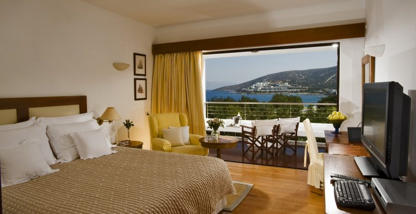 Elounda Beach Resort VIP Club Double Room Sea View