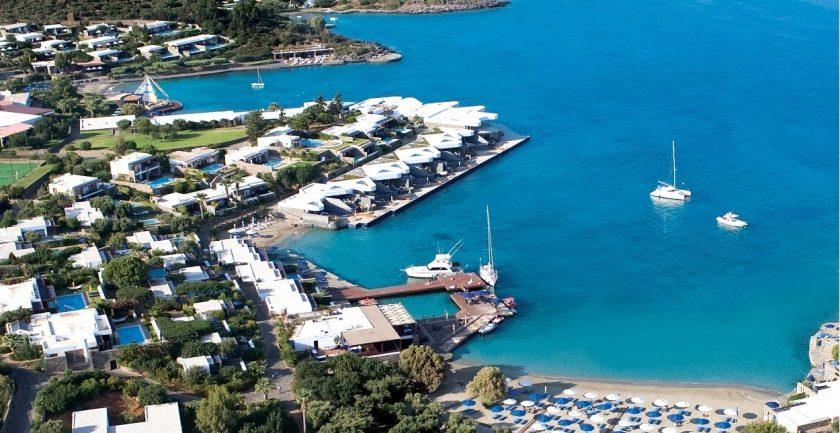 Elounda Beach Resort Aerial