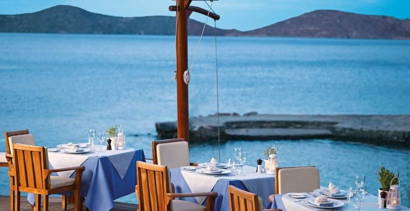 Elounda Mare Hotel Relais & Châteaux Dining