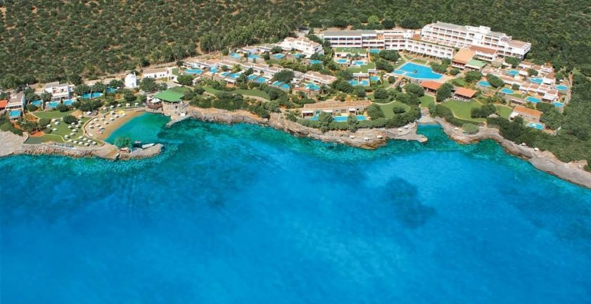 Elounda Mare Hotel Relais & Châteaux Aerial Hotel View