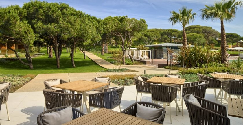 The Epic Sana Resort, Algarve, Outside Terrace