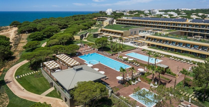The Epic Sana Resort, Algarve, Aerial Pool Views