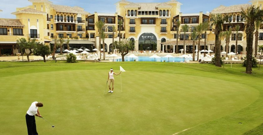 Intercontinental Mar Menor Golf Resort & Spa Putting Green