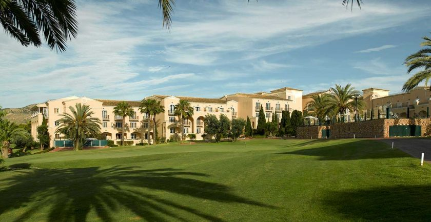 La Manga Club Hotel Front Lawns